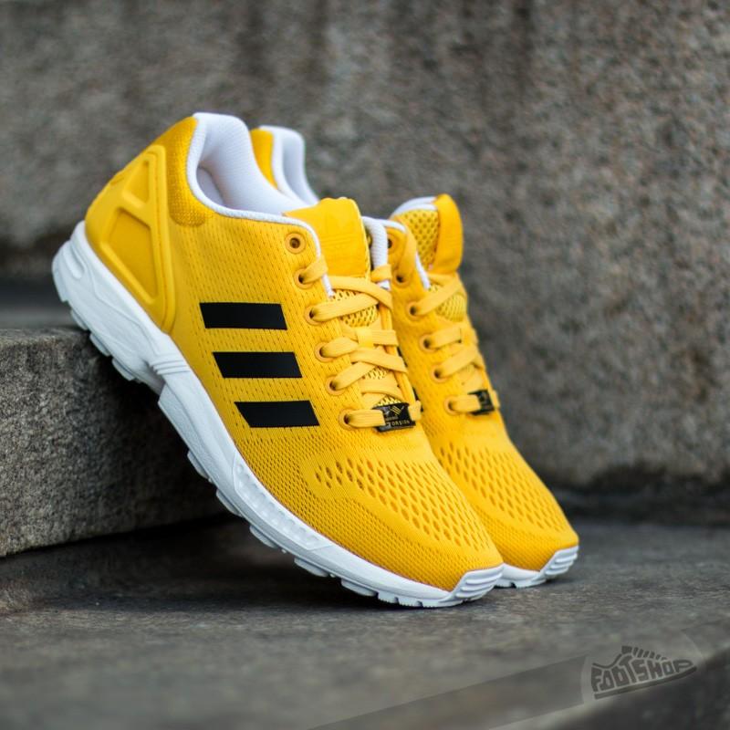 designer fashion 74a38 d9edc ... low price adidas zx flux color bold gold core black ftwr white d2efb  0c456