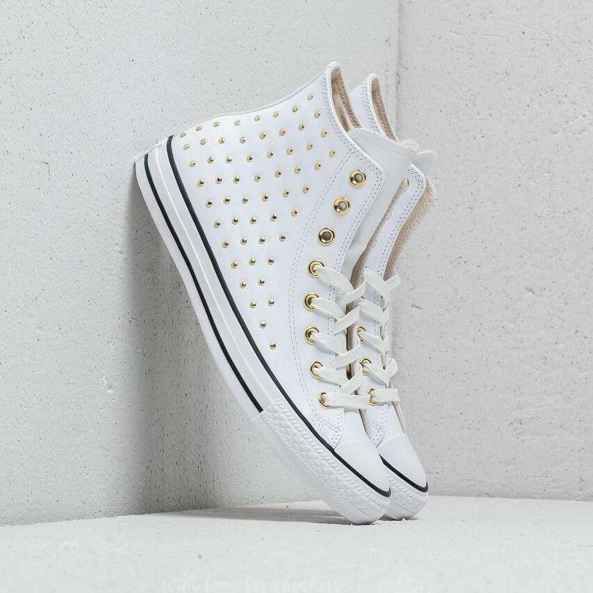 Converse Chuck Taylor All Star Hi White/ White/ Gold EUR 36.5