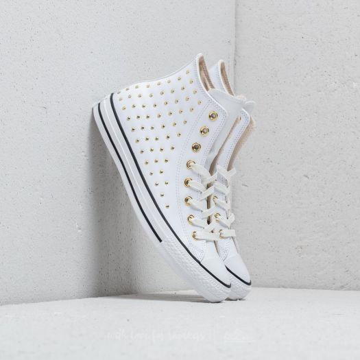 Converse Chuck Taylor All Star Hi White White Gold | Footshop