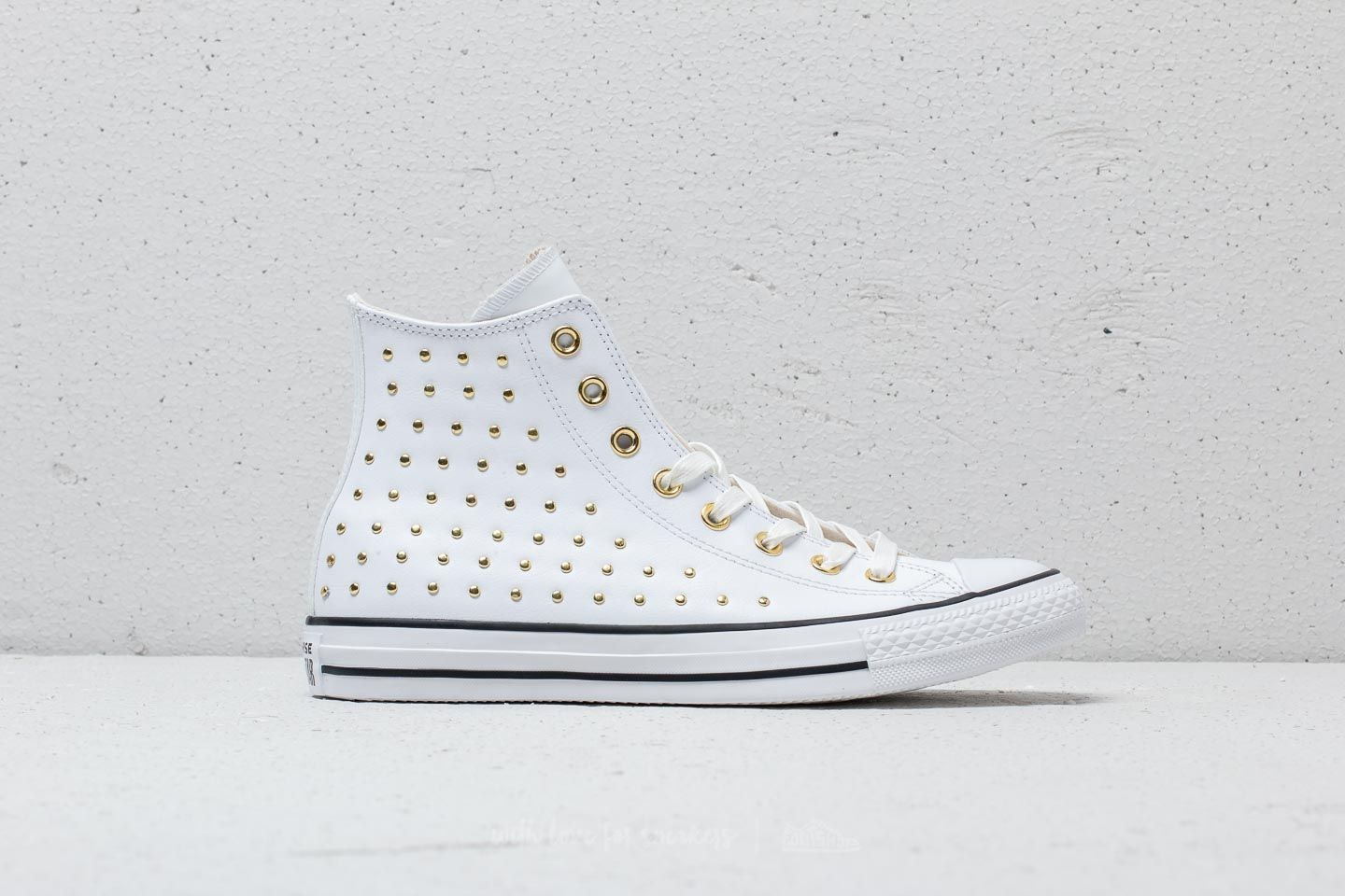 5c4bb49cfa31 Converse Chuck Taylor All Star Hi White  White  Gold at a great price 49