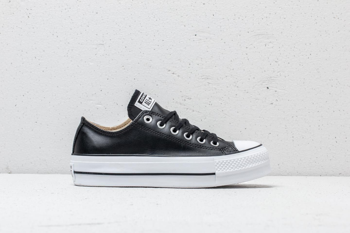 d70e1dc1044bcd Converse Chuck Taylor All Star Lift Clean OX Black  Black  White at a great