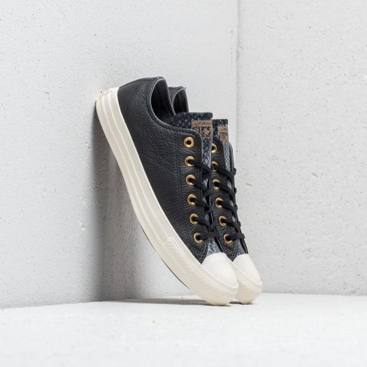 Converse Chuck Taylor All Star OX Black Mason Egret | Footshop
