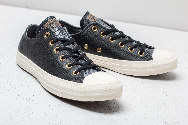 Converse Chuck Taylor All Star OX Black Mason Egret | Footshop