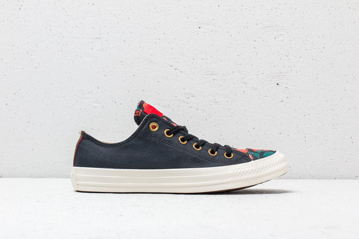 Converse Chuck Taylor All Star OX Black Cherry Red Egret