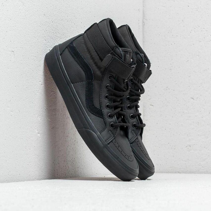 Vans Sk8-Hi Reissue (Leather) Ballistic/ Black EUR 35