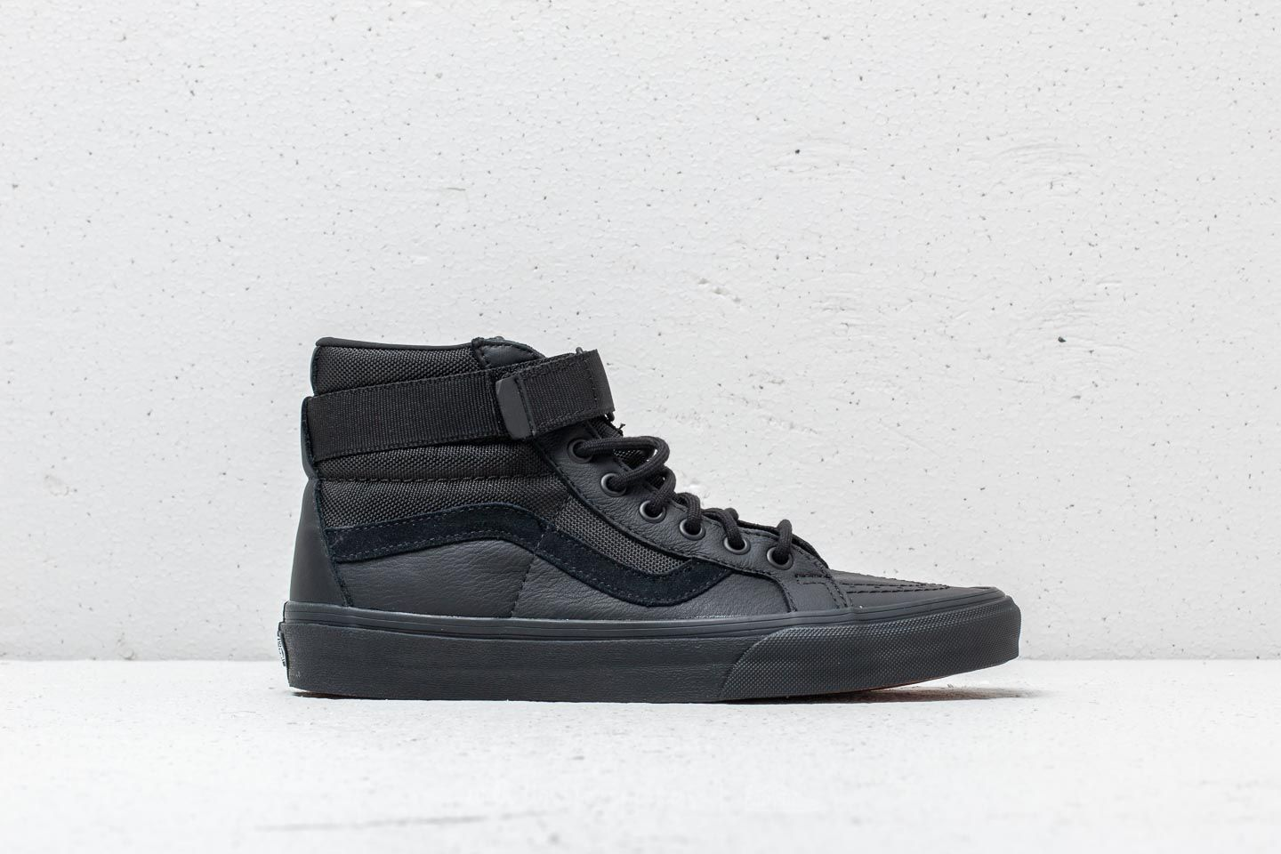 Vans Sk8-Hi Reissue (Leather) Ballistic  Black at a great price 75 16493ca95