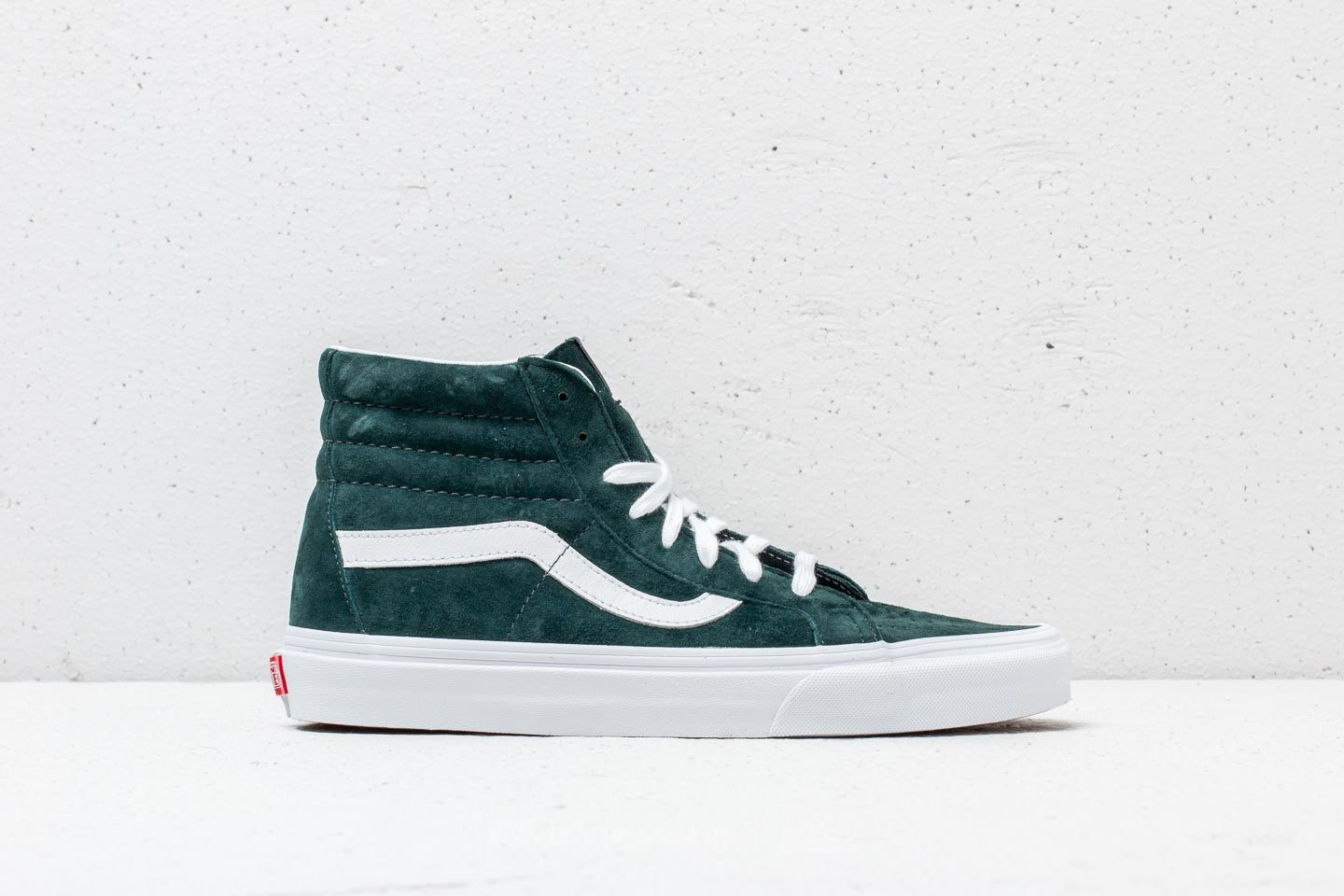 Vans Sk8-Hi Reissue (Pig Suede) Darkest Spruce at a great price 83 d3b807a6a