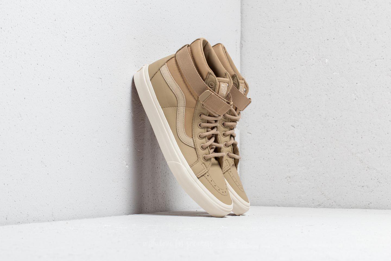 Vans Sk8 Hi Reissue Strap (Leather) Ballistic Cornstalk | Footshop