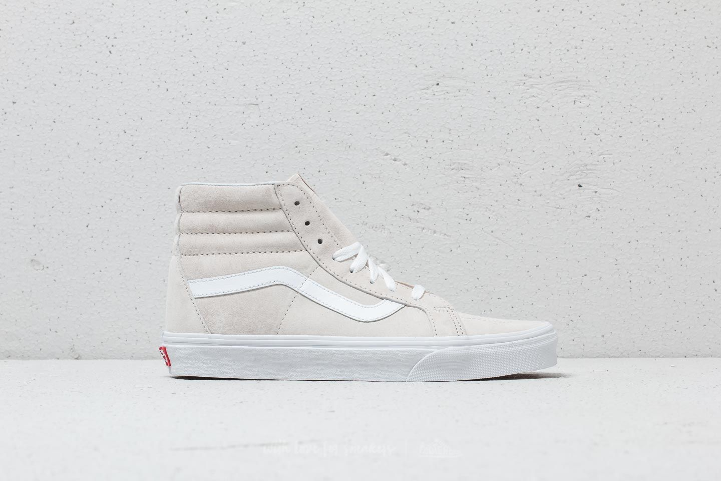 ffe8edb2bf47 Vans Sk8-Hi Reissue (Pig Suede) Moonbeam  True White at a great
