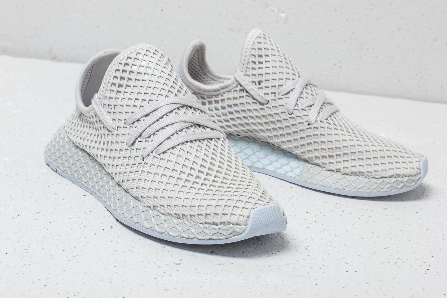 50dadfde9043 adidas Deerupt Runner W Grey One  Grey One  Aero Blue at a great price