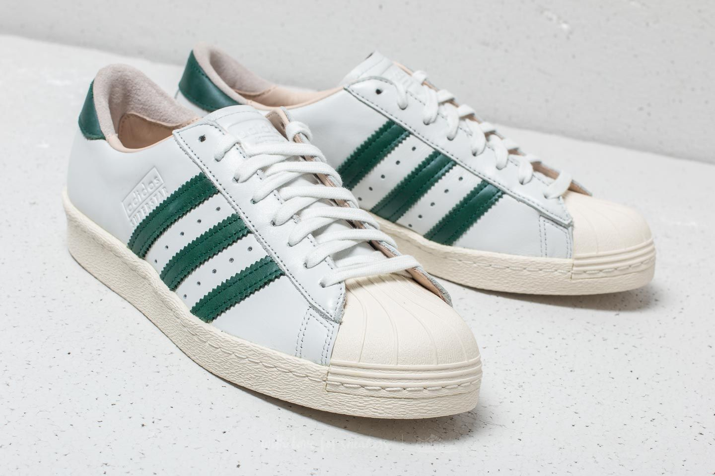promo code 45ee3 bca33 reduced adidas green superstar sneaker f2463 254f2