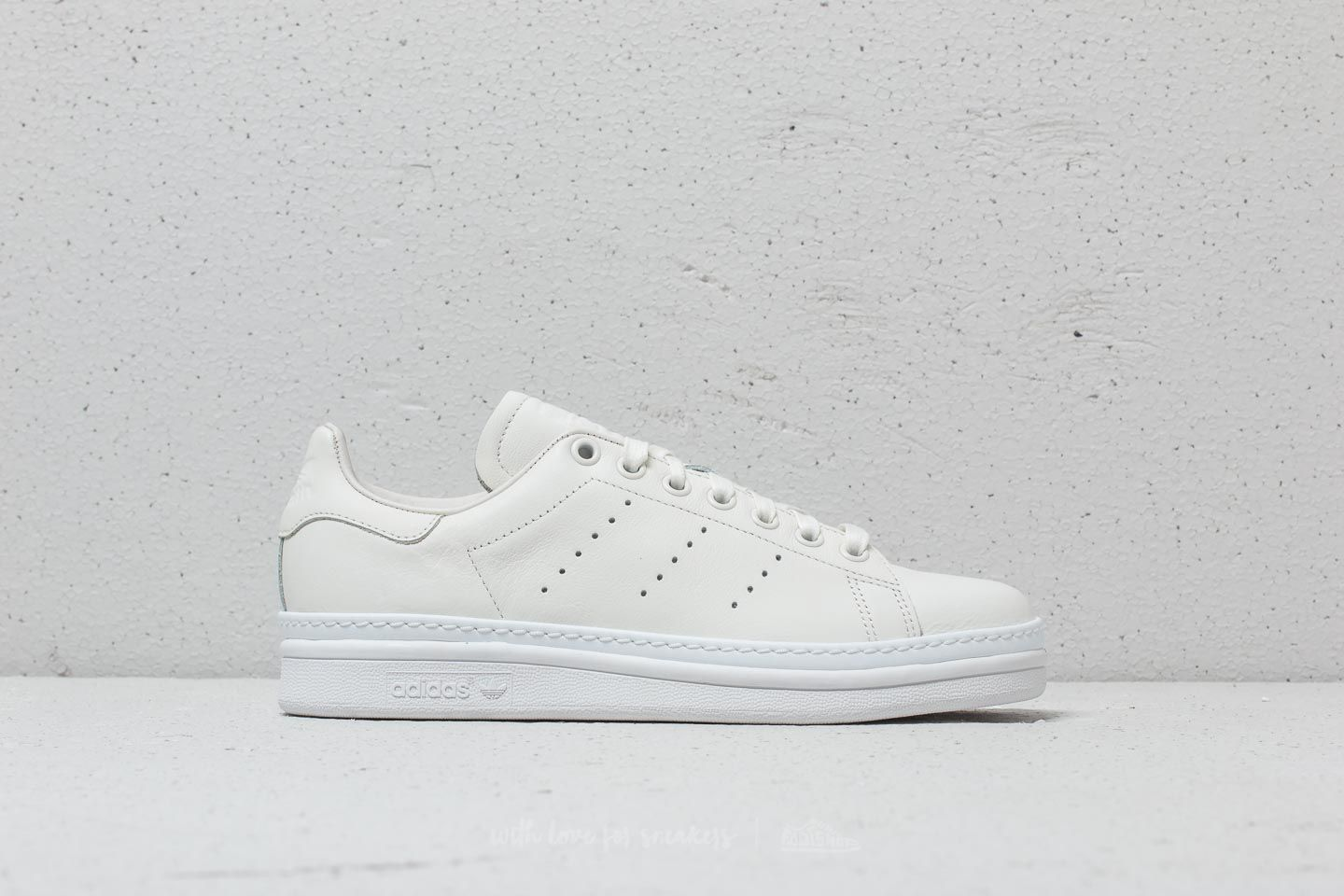 adidas Stan Smith New Bold W Cloud White  Ftw White  Ftw White at a 6e3189902bf