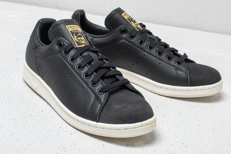 adidas Stan Smith Premium Core Black/ Core Black/ Gold Metallic ...