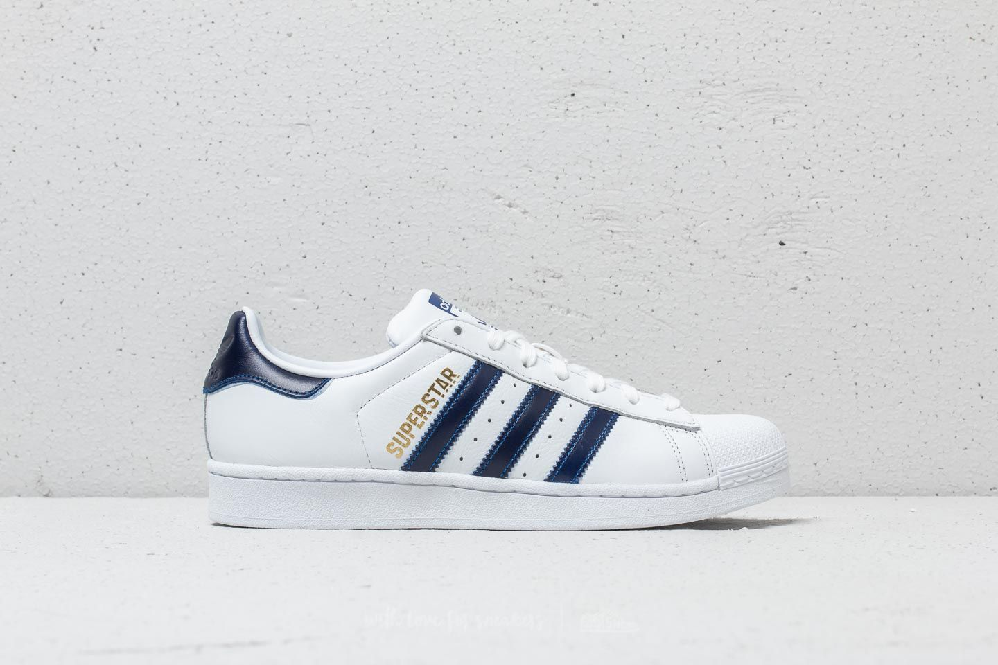 meet 66aeb d93a9 adidas Superstar Ftw White Collegiate Royal Metallic Gold at a great  price 70 €
