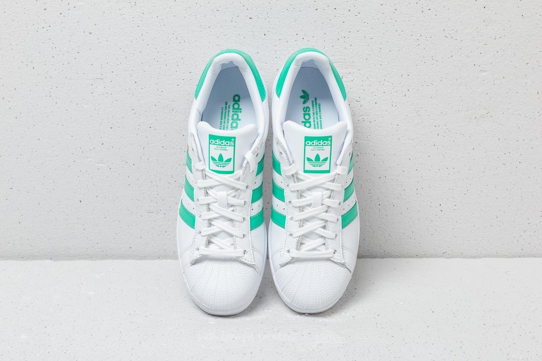 adidas Superstan Ftw White Ftw White Green