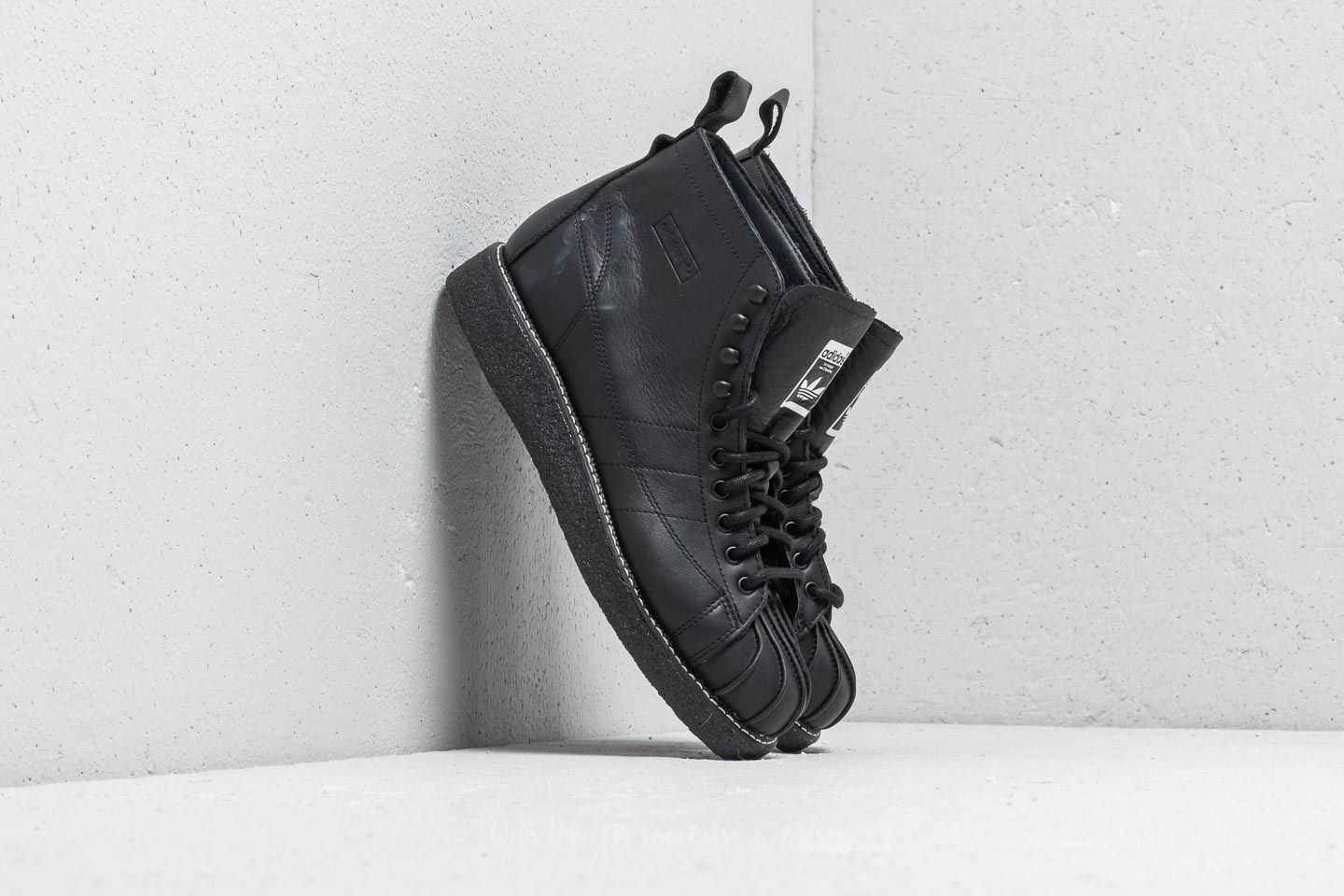adidas Superstar Boot Luxe W Core Black  Core Black  Ftw White at a great 5dd620eb2