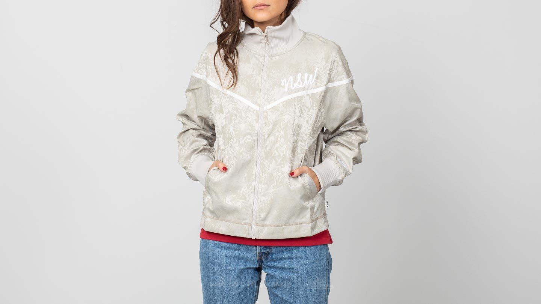 Nike Sportswear Track Jacquard Jacket Beige/ White za skvělou cenu 990 Kč koupíte na Footshop.cz