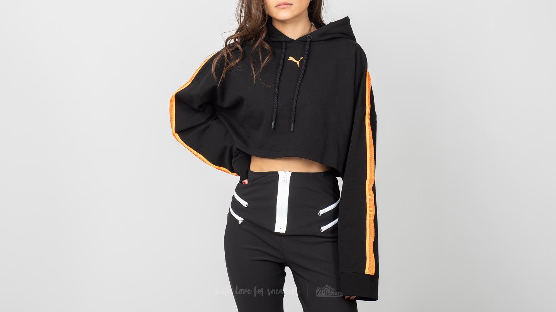 09078875e23b Puma Fenty x Rihanna Hooded Longsleeve Cropped Sweatshirt Puma Black