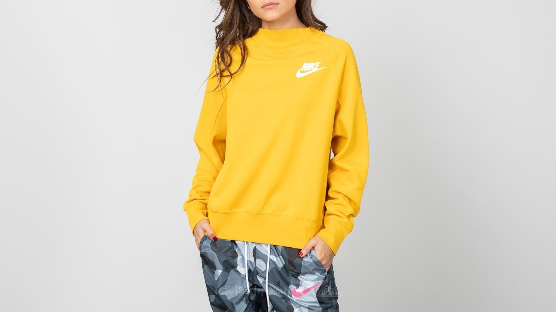 3f947296 Nike Sportswear Rally Crewneck Yellow Ochre/ White   Footshop