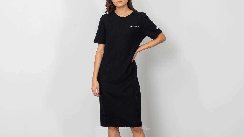 Champion Shortsleeve Dress Black za skvělou cenu 1 980 Kč koupíte na Footshop.cz