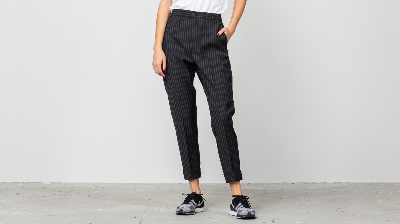HOPE Law Cropped Trousers Dark Grey Stripes za skvelú cenu 81 € kúpite na Footshop.sk