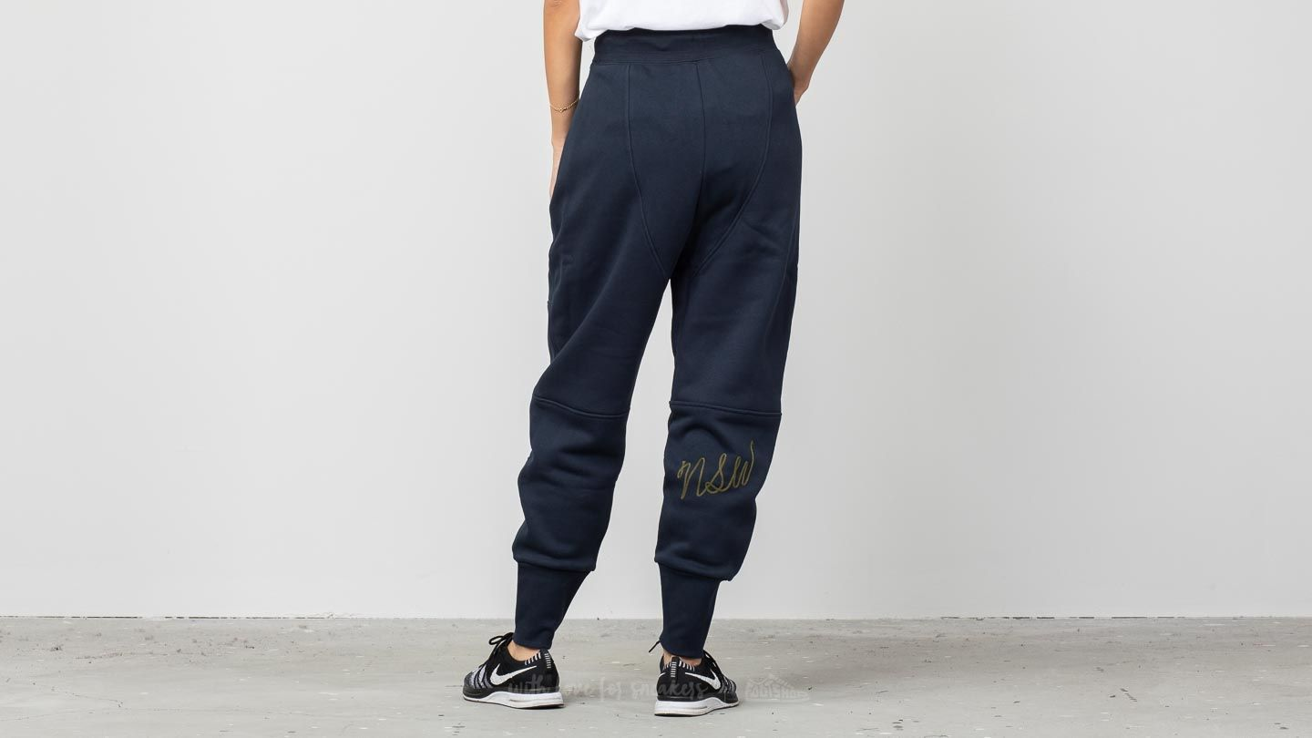 Nike Sportswear Fleece Jogger Pants Dark Obsidian Olive Canvas | Footshop