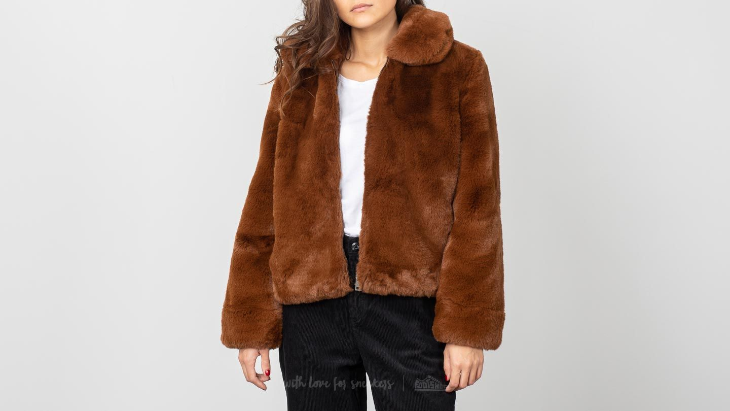 SELECTED Faya Faux Fur Jacket