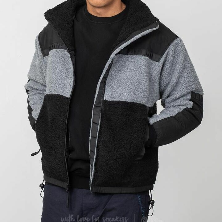 Billionaire Boys Club Sherpa Fleece Jacket Black