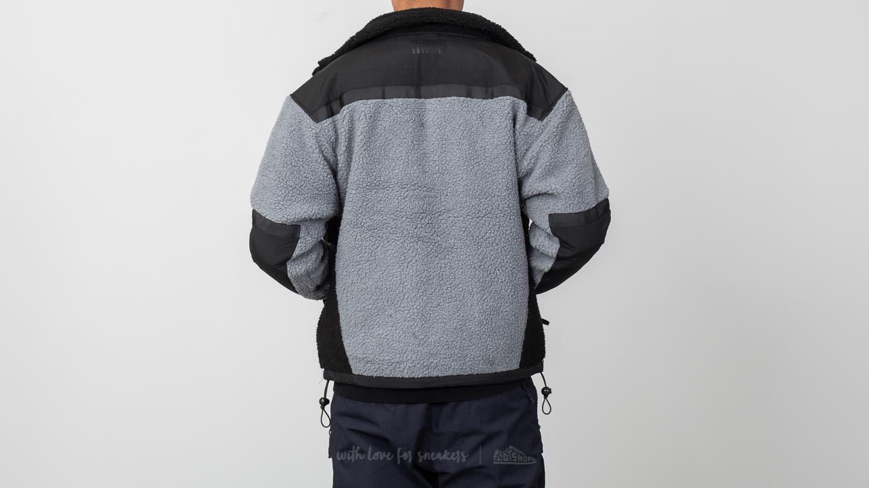 57d1fa0f12ab Billionaire Boys Club Sherpa Fleece Jacket Black