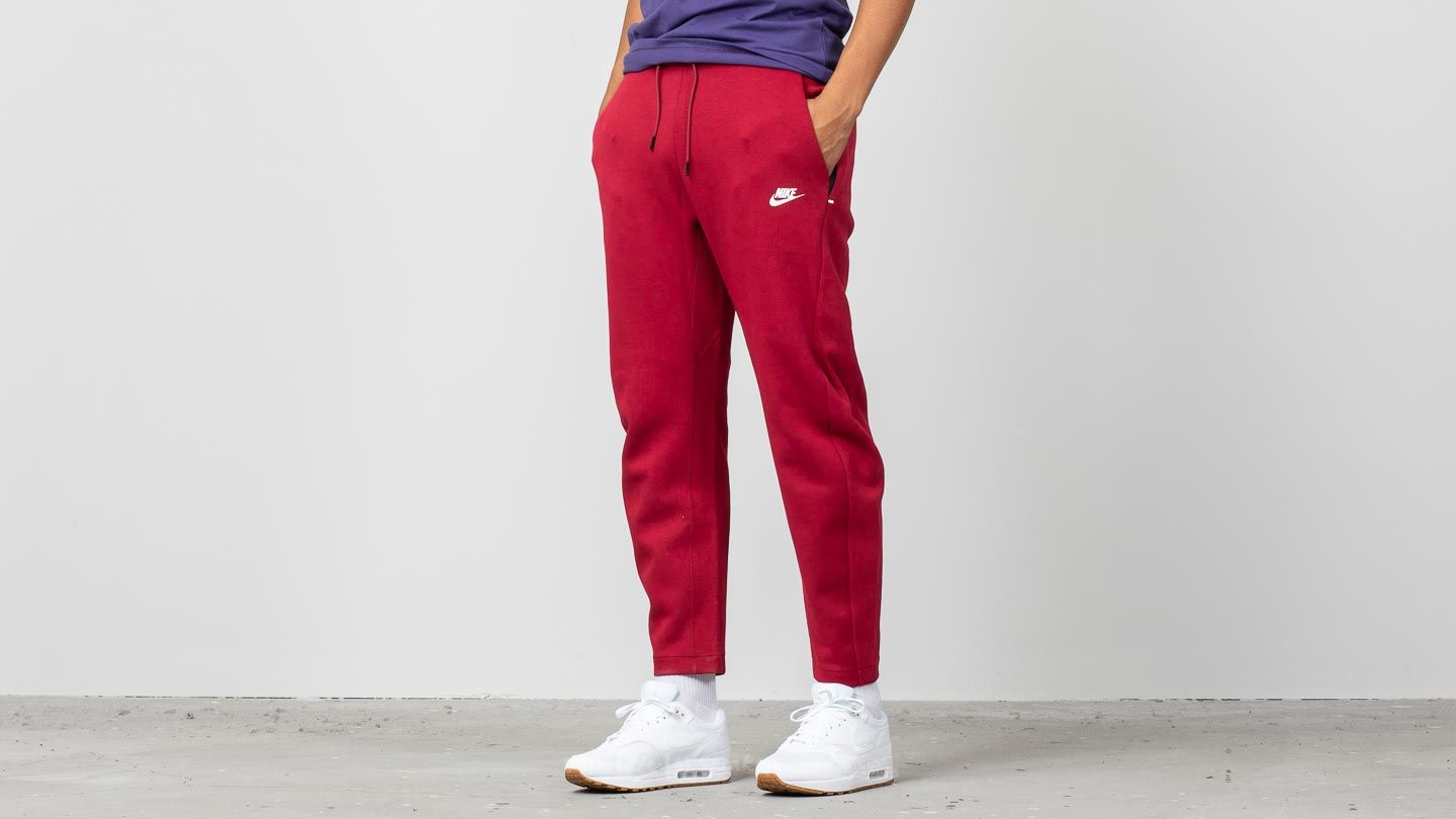 Nike Sportswear Tech Fleece Pants Red Crush  White at a great price 59 € buy 7c8201aab9