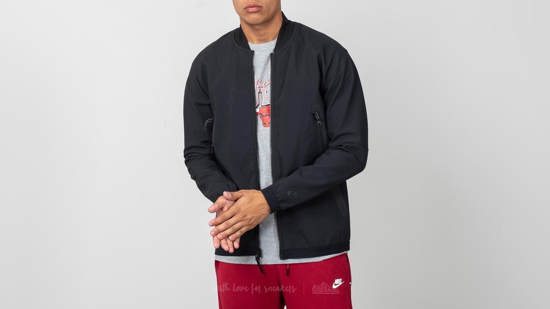 75085ba3c9b3 Nike Sportswear Tech Pack Woven Track Jacket Black