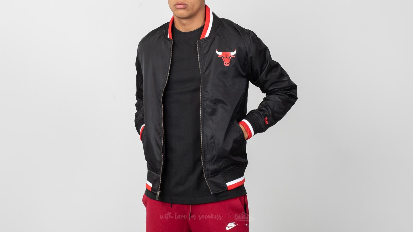 7513cd535 New Era Varsity Jacket Chicago Bulls Black/ Red | Footshop
