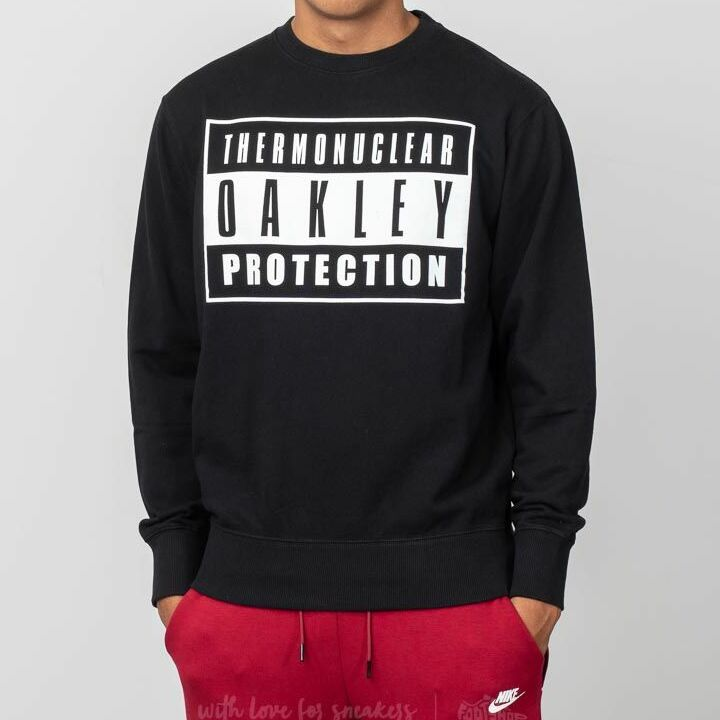 Oakley TNP Advisory Fleece Crewneck Blackout, Black