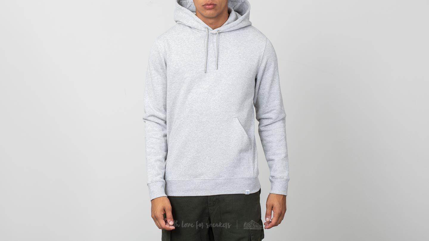 474276796c2 Norse Projects Vagn Classic Hoodie Light Grey Melange at a great price £57  buy at