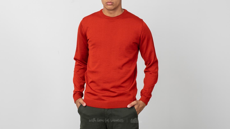Norse Projects Sigfred Merino Sweater Oxide Orange za skvělou cenu 1 590 Kč koupíte na Footshop.cz