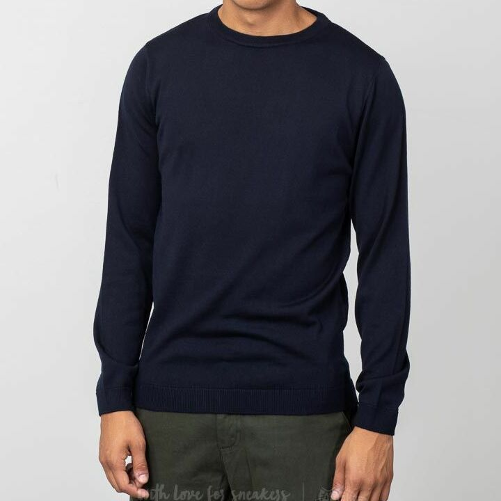Norse Projects Sigfred Merino Sweater Dark Navy, Blue