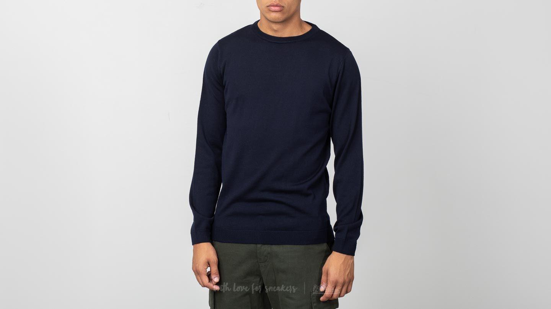 Norse Projects Sigfred Merino Sweater Dark Navy za skvělou cenu 2 390 Kč koupíte na Footshop.cz
