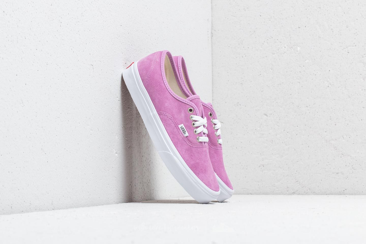 Vans Authentic (Pig Suede) Violet True White | Footshop