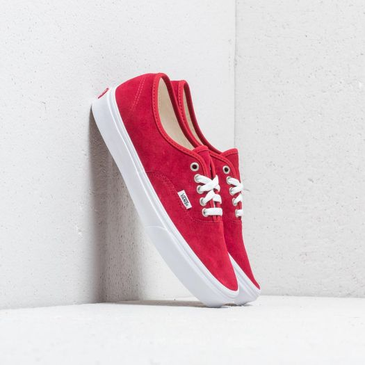 Vans Authentic (Pig Suede) Scooter True White | Footshop