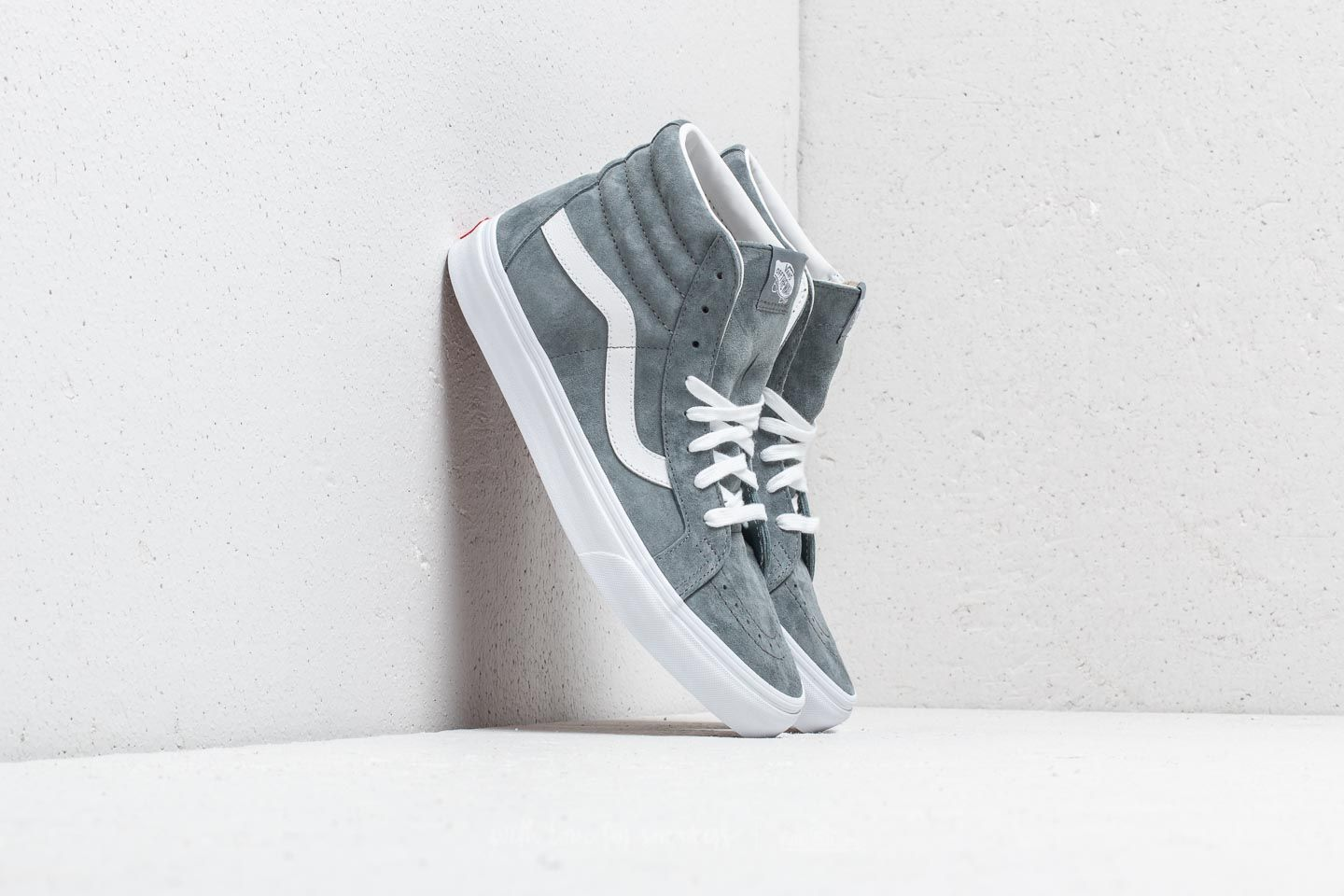 Vans Sk8-Hi Reissue (Pig Suede) Stormy Weather  787e9751c5