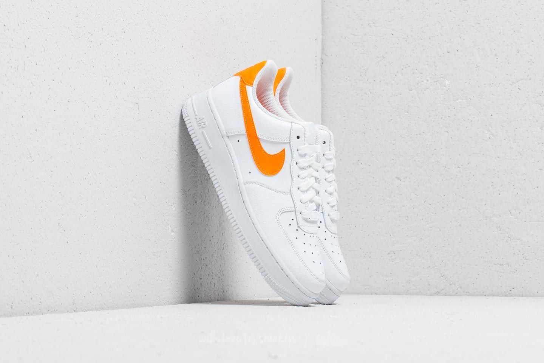 Nike Wmns Air Force 1 07 White/ Total Orange-White | Footshop