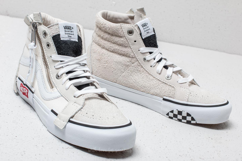 Vans Cut & Paste SK8 Hi Cap LX Marshmallow True White | Footshop