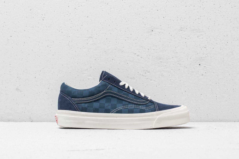 Vans OG Old Skool LX (SuedeCanvas) Checkerboard   Footshop