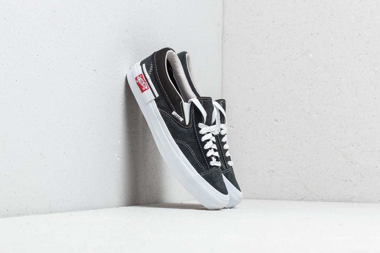 Vans Cut & Paste Slip On Cap LX Black True White | Footshop