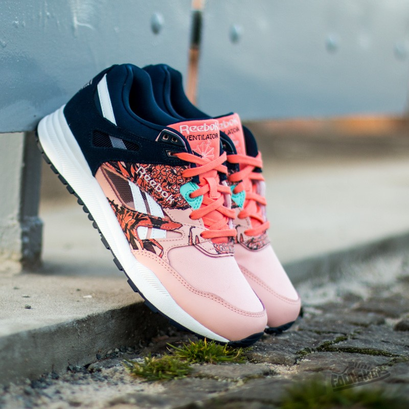 dd0f8ac7f74c Reebok Ventilator Graphics Coralglow Coral Collnavy Crystalblue White