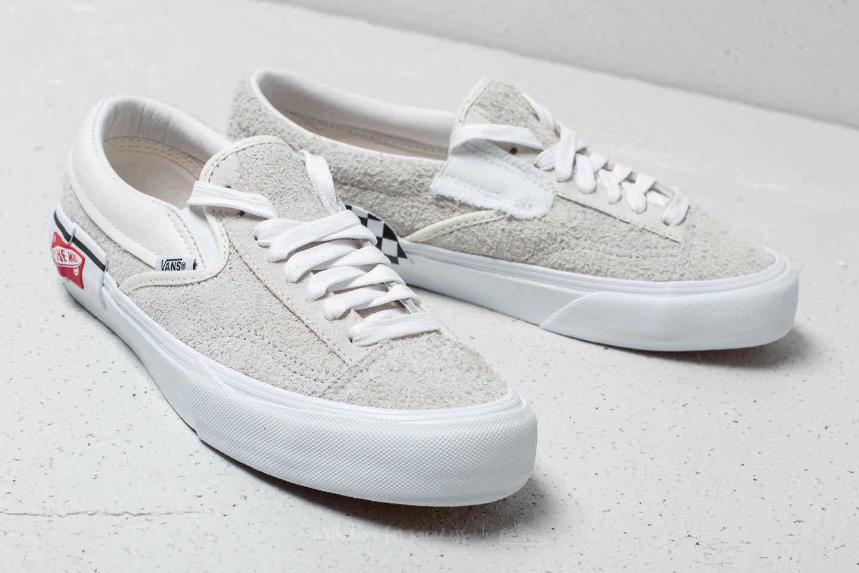 Vans Cut Amp Paste Slip On Cap Lx Marshmallow True White