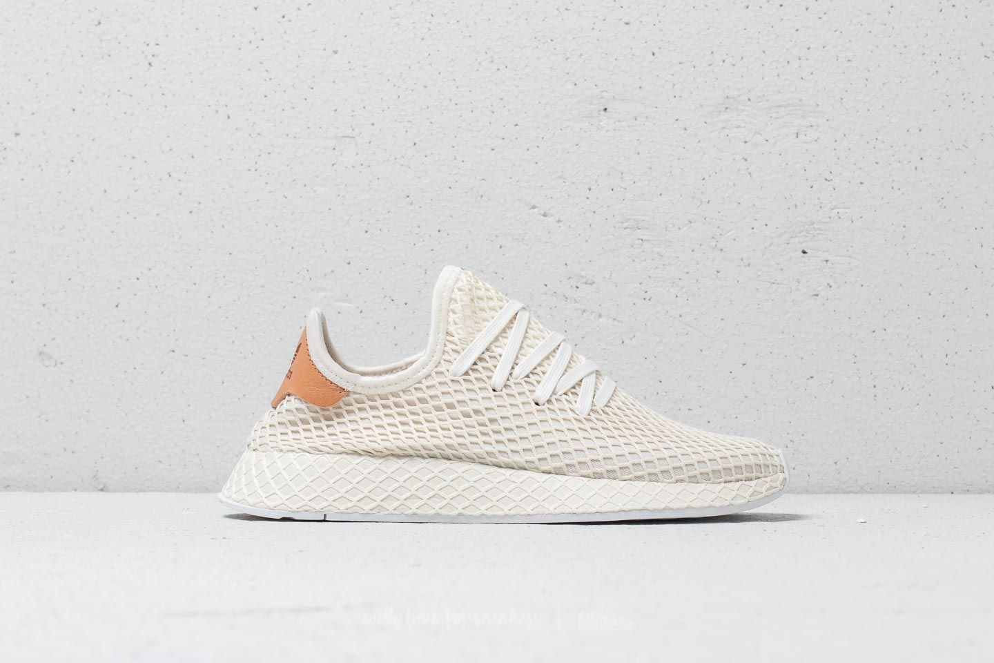 3800130e8cc6d adidas Deerupt Runner Cloud White  Ash Pearl  Cloud White at a great price   100