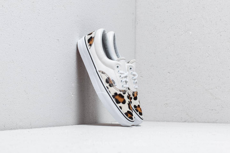 Vans Era (Calf Hair) Leopard  True White  e5cdb5821cc0