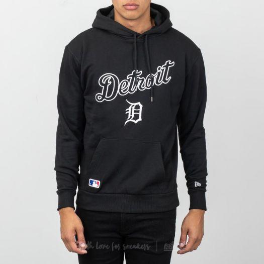quite nice 2527d 02dae New Era University Club Detroit Tigers Pullover Hoodie Black | Footshop
