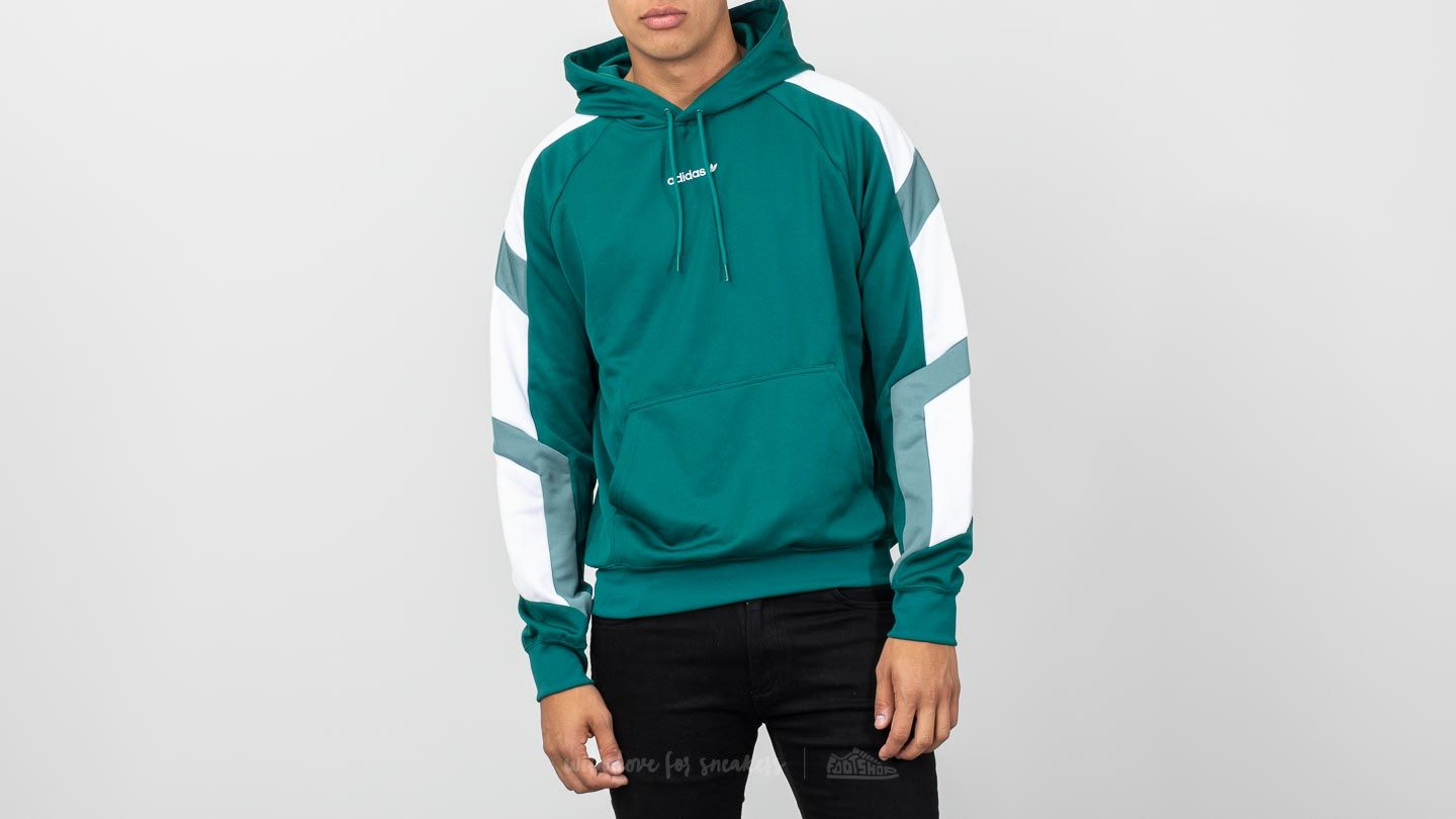 1cc083c6bedd adidas Originals Equipment Block Hoody Hoodie Noble Green ...